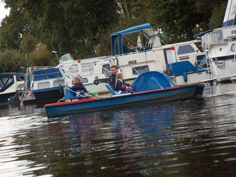 Tretboot & Motorboot