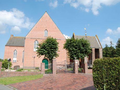 St. Barbara Kirche Strackholt